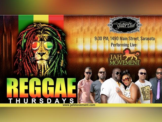 Rum Punch and Reggae Thursdays w/ Jah Movement