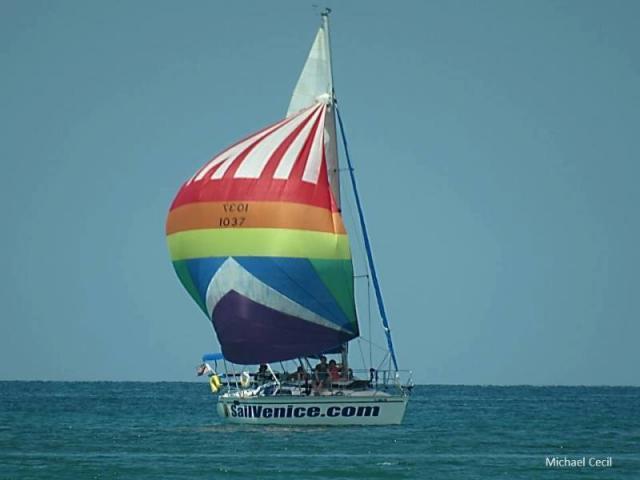 Sailing aboard Inspiration
