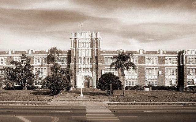Former Sarasota High School - Architect M. Leo Elliott