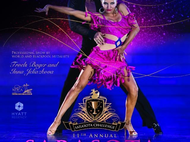 Sarasota Challenge Dancesport Competition - Flyer.