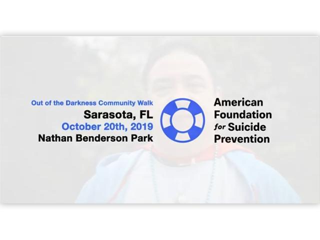 Sarasota County Out of the Darkness Walk