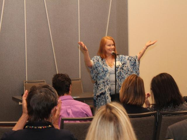 Sarasota Holistic Chamber of Commerce meeting, Patricia Starr, President
