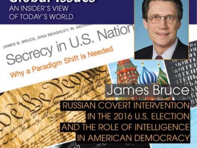 Dr. James Bruce - Dr. James Bruce will unpack the key controversies surrounding the election of the 45th U.S. President on January 17th, 2019.