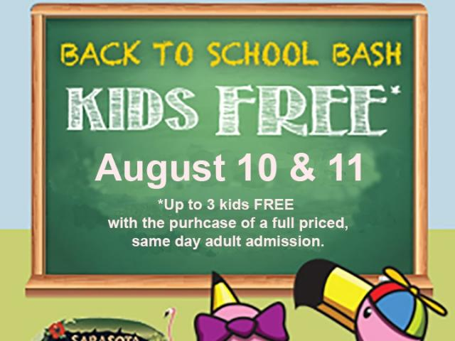 Sarasota Jungle Gardens Back-to-School Celebration