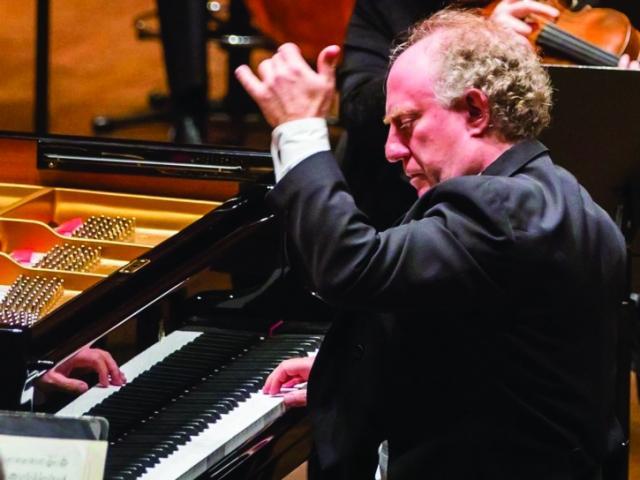 Jeffrey Kahane on Piano