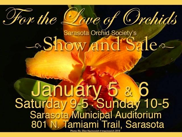Sarasota Orchid Society Show and Sale