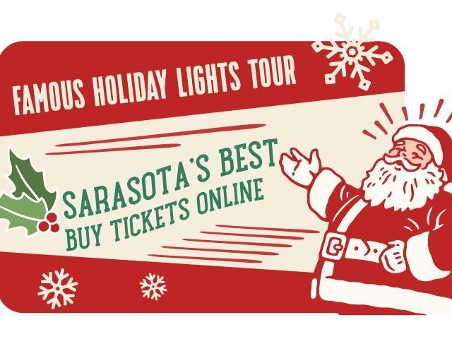 Sarasota Trolley's Famous Holiday Lights Tour