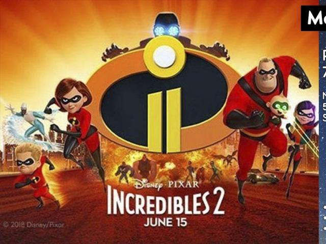 "Moonlight Movies ""Incredibles 2"" Image"