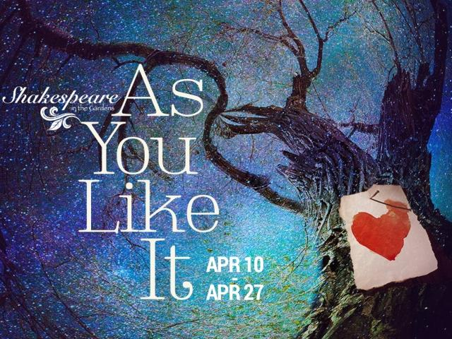 Shakespeare in the Gardens: As You Like It