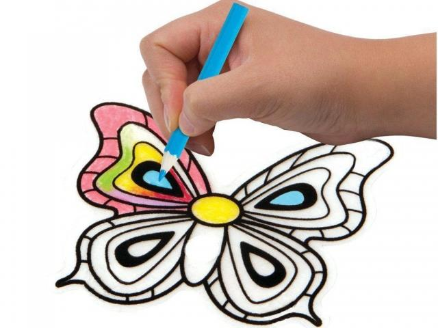 Shrinky Dink Butterfly