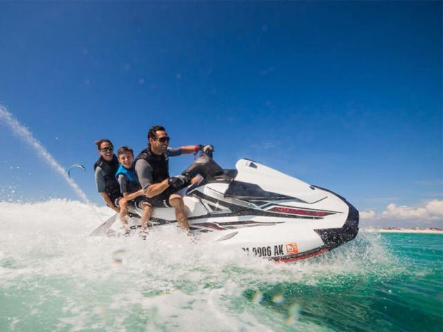 Jet Ski Photo - Up to three people can go on one Jet Ski