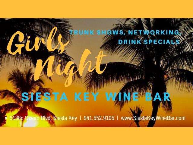 Siesta Key Wine Bar Girls Night Out