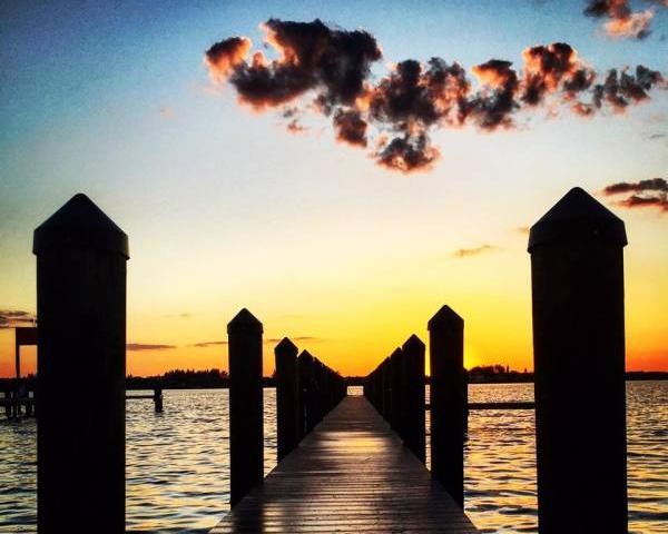Dock Sunset - Your everyday sunset at Spanish Point