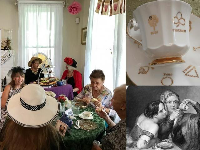 Spiritualism & Tea at Charms of Leffingwell 4/26 & 4/27