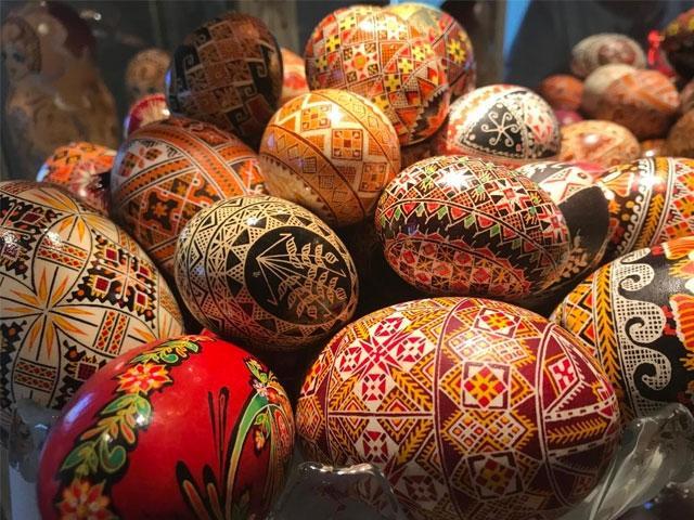 Ukrainian Eggs  [Photo: Robin Draper]