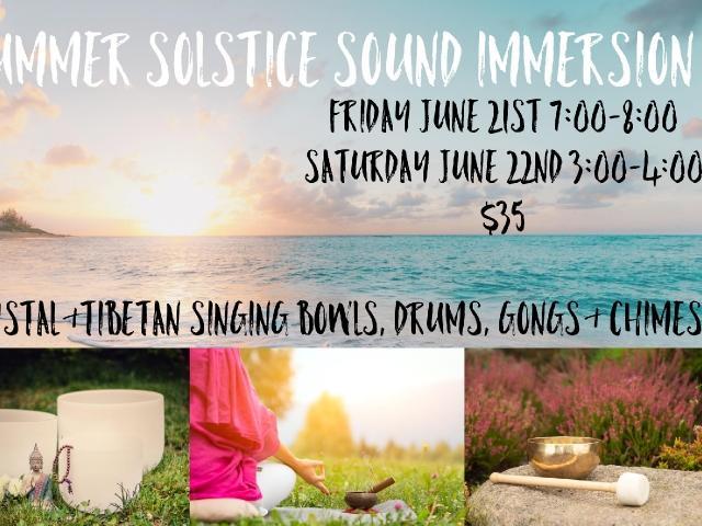 Summer Solstice Sound Immersion
