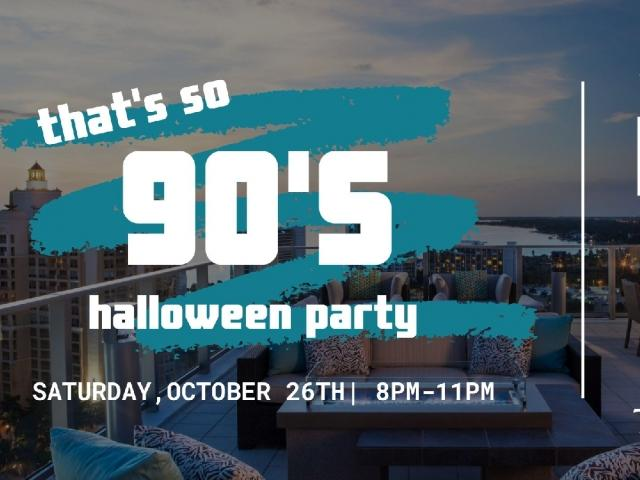 That's So 90s Halloween Party | The Roof Bar & Eats