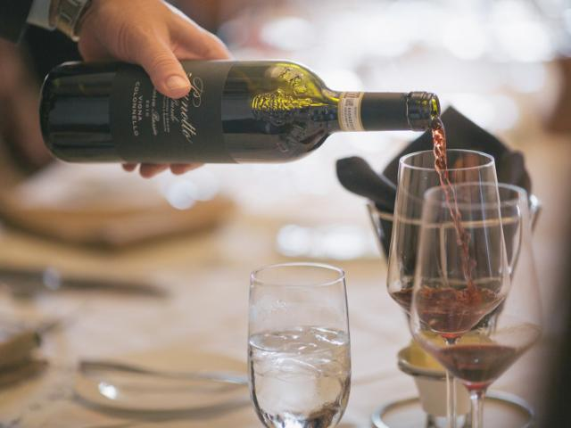 Wine Pour - The Bistro at The Concession Golf Club has a diverse wine list of over 365 selections.