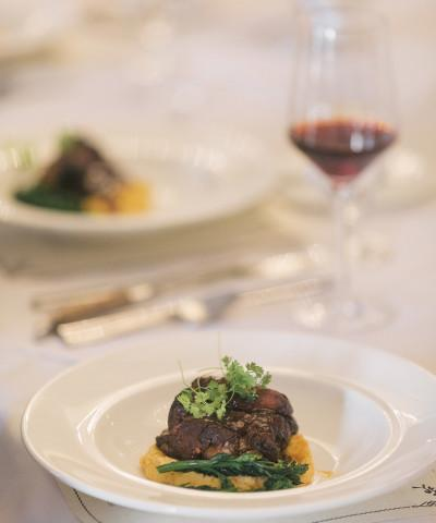Bistro Wine Dinner - Culinary members enjoy intimate wine dinners with carefully crafted pairings.