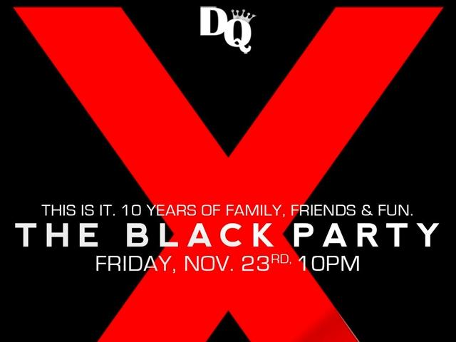 The Official Black Party on Black Friday