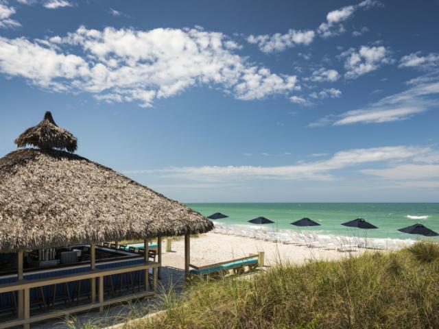 The Ritz-Carlton Beach Club - The Lido Key Tiki Bar at The Ritz-Carlton Beach Club on Lido Key