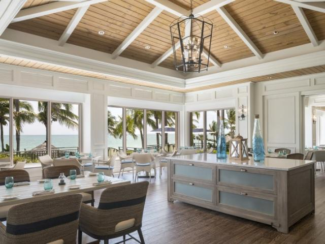 Ridley's Porch - Ridley's Porch at The Ritz-Carlton Beach Club on Lido Key