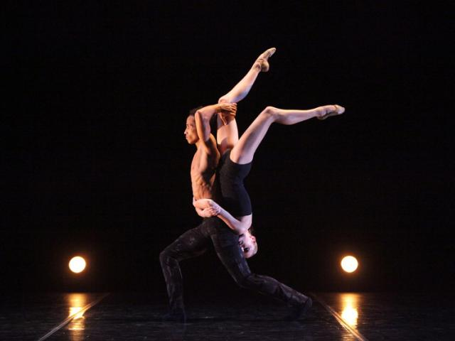 The Sarasota Ballet in Ricardo Graziano's Symphony of Sorrows - Photo Frank Atura - The Sarasota Ballet in Ricardo Graziano's Symphony of Sorrows, dancer pictured Ricardo Rhodes - Photo Frank Atura