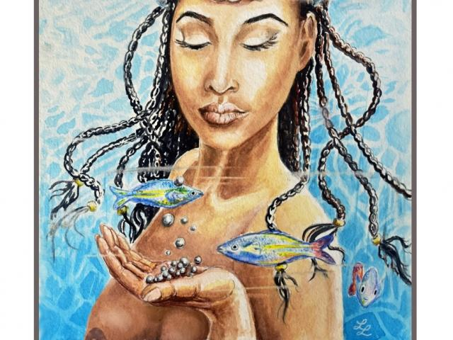 The Shakti Wisdom Art Show will feature the art of Lee Libro