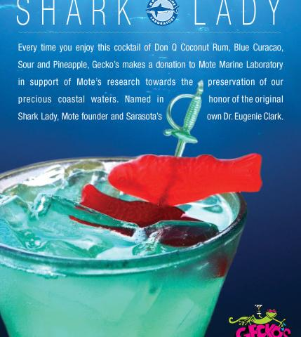 The Shark Lady Philanthropic Cocktail to benefit Mote Marine Laboratory