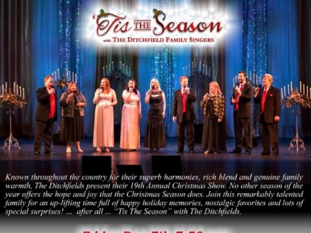 Tis The Season with The Ditchfield Family Singers