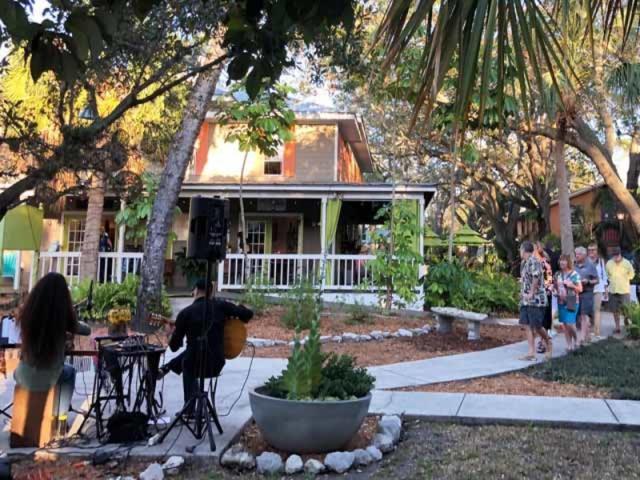 Courtyard - Music in the courtyard