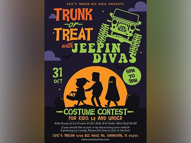 Trunk or Treat with the Jeepin Divas
