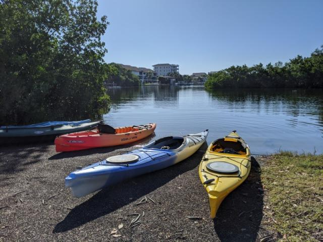 Turtle Beach Park - Personal Kayak Launch