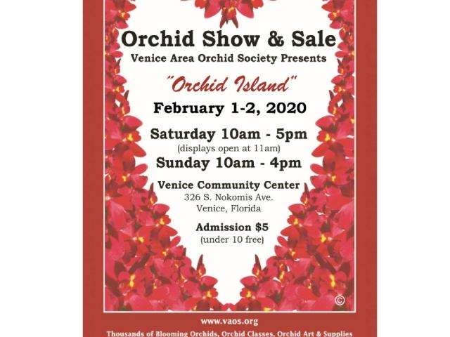 Venice Orchid Show Feb. 1-2 at the Venice Community Center