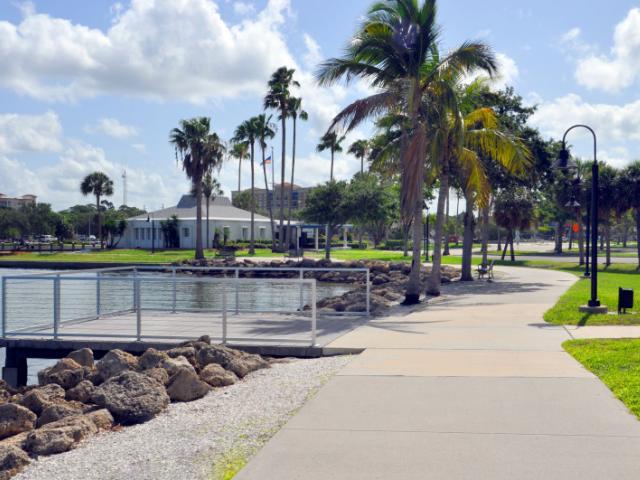 Walkway & Fishing - Talk a walk along the bay or fish!