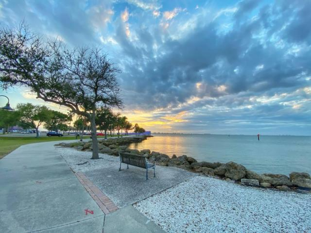 Waterfront Park - This park is the perfect spot to watch the sunset!