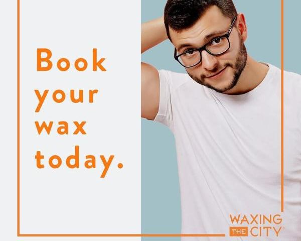 Male get wax too! - 50% Off your first service