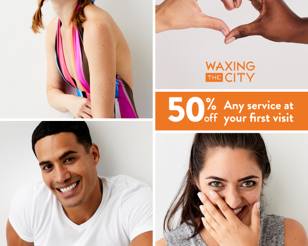 50% Off  First Service - Head to toe, and everything in between
