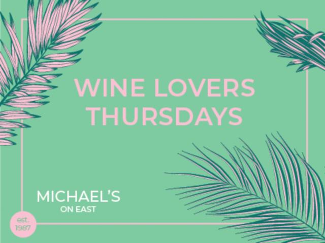 Wine Lovers Thursdays
