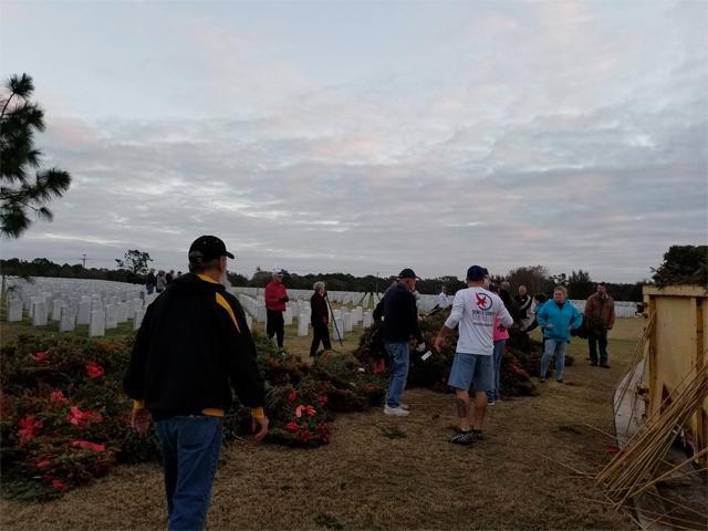 Wreath Retirement Sarasota National Cemetery