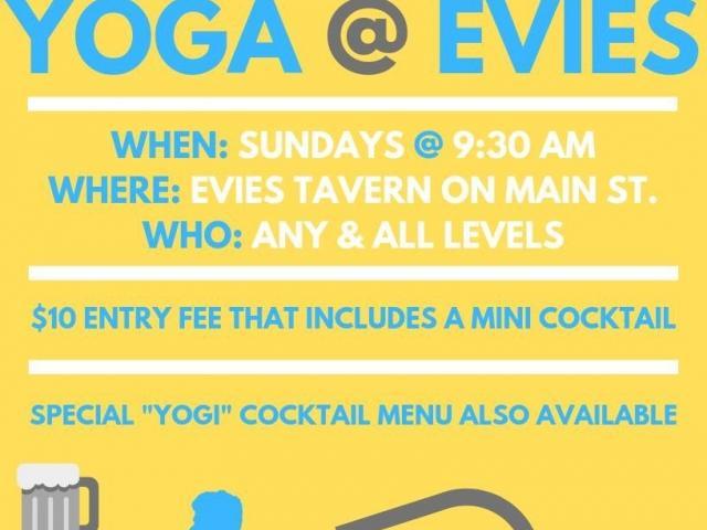 Yoga @ Evie's