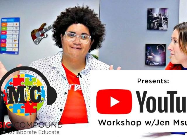 YouTube Workshop with Jen Msumba