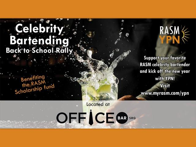 YPN Celebrity Bartending Back to School Rally!