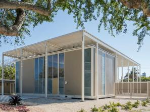 picture of paul rudolph umbrella house in sarasota county, florida