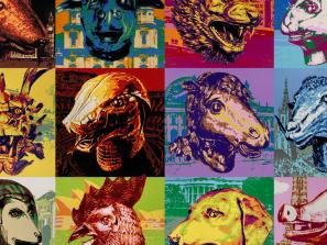 See Ai Weiwei's Chinese zodiac made of Legos at the Ringling Museum