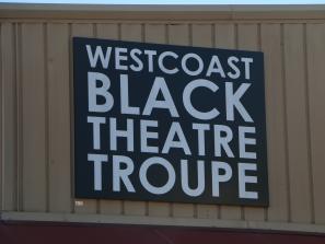 logo on westcoast black theatre troupe building