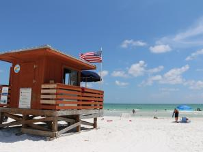 Lido Beach in Sarasota County