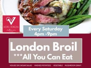 All You Can Eat London Broil