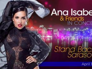 Ana Isabelle & Friends in Concert  - Stand Back, Sarasota