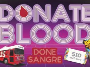 August Blood Drive at Arlington Park & Aquatic Complex